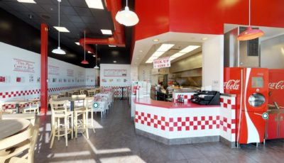 Five Guys Burgers & Fries_ Mishawaka, IN 3D Model